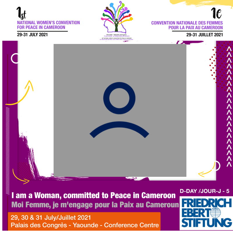 National Women's Convention for Peace in Cameroon 5 days to go