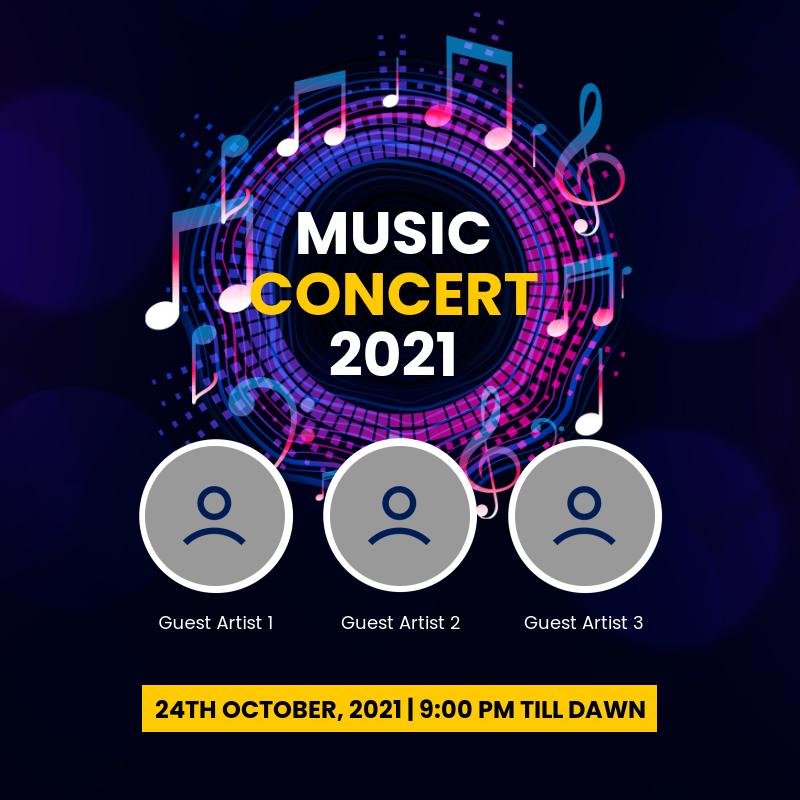 Music concert 2021