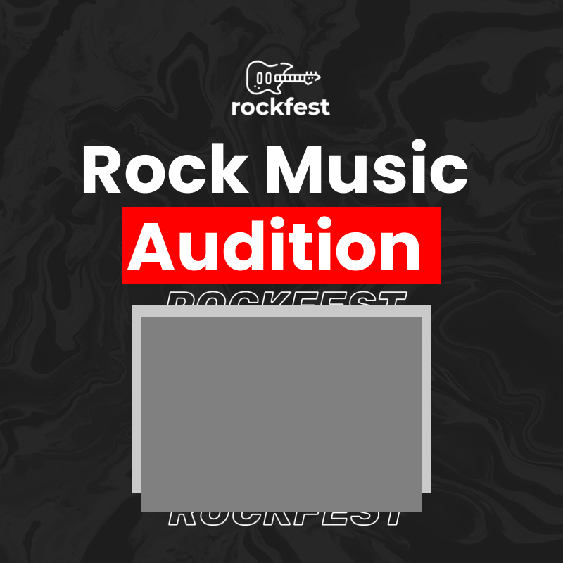 Rock music audition