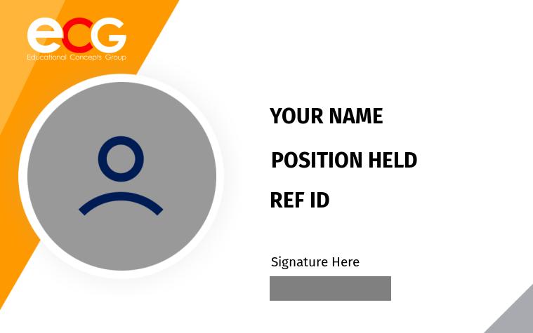 ECG ID Card