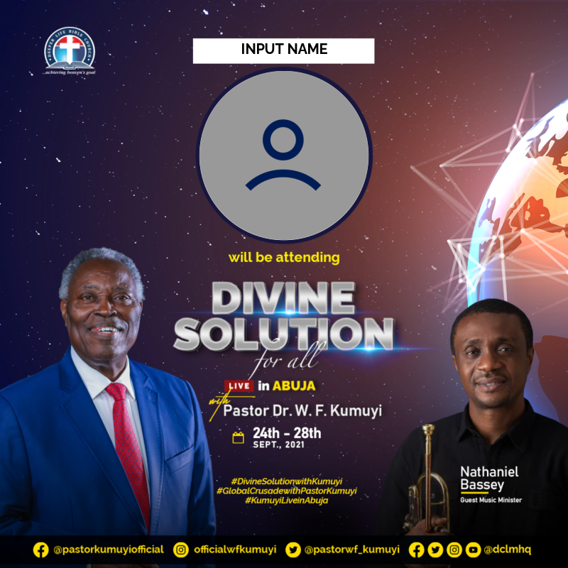 DIVINE SOLUTION FOR ALL