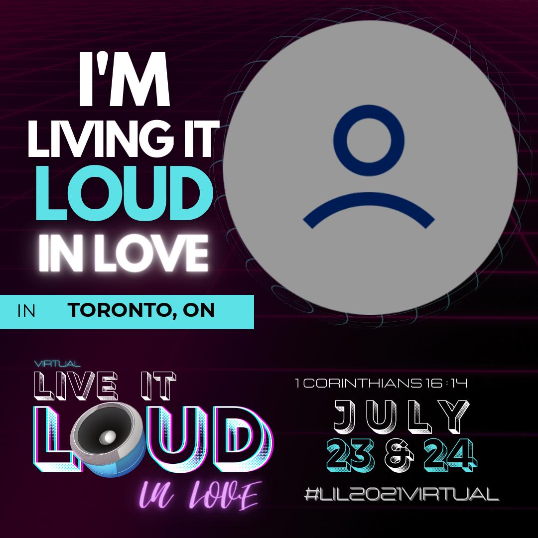 Live It Loud 2021 - Blue