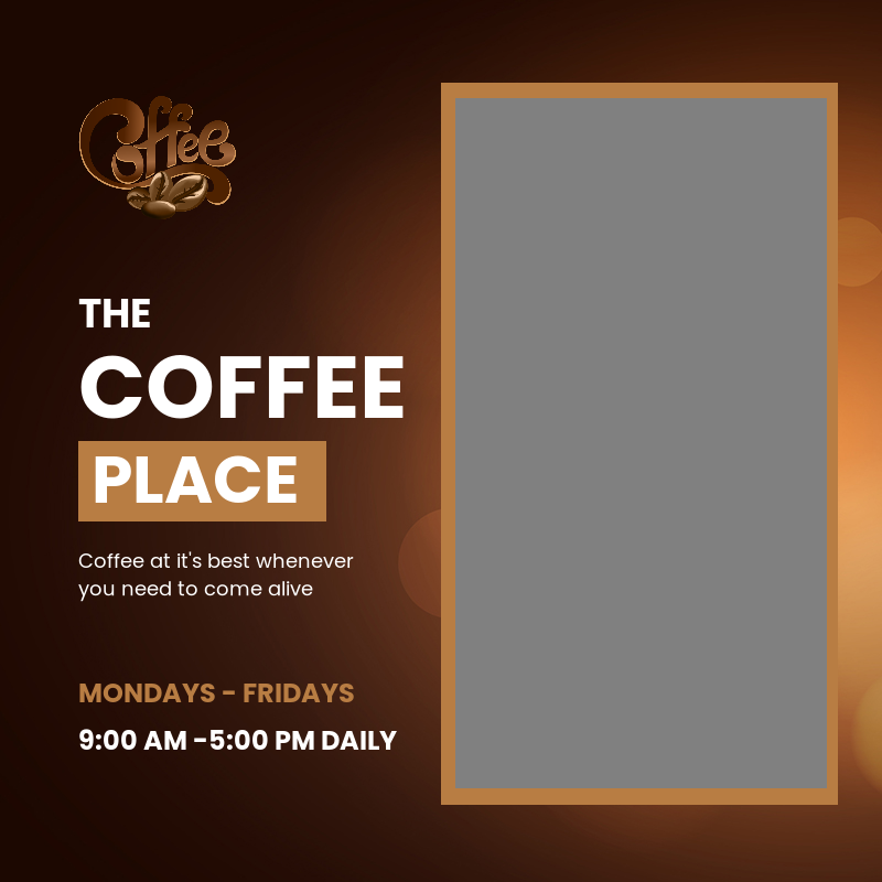 The coffee place
